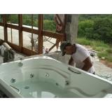 Conserto de Vazamento de Banheira
